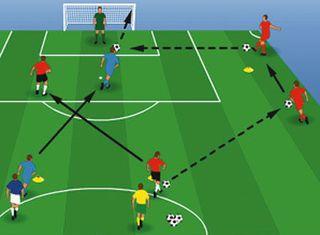 Football drill