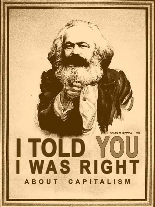 Marx I told you