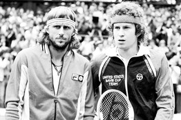 Borg and McEnroe hair