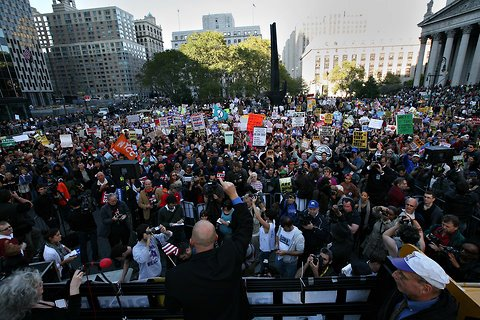 OWS crowd