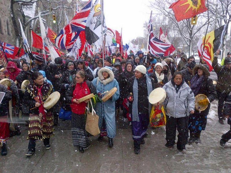 Idle no more women