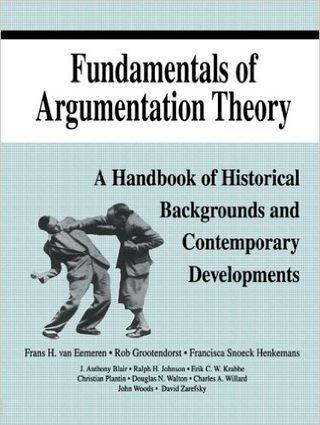 Cover Fundamentals of Argumentation